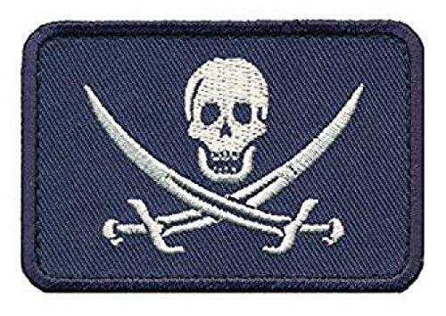 Jolly Roger Calico Jack Morale Hook Morale Patch (CAL1)