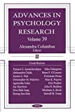 Advances in Psychology Research, Alexandra Columbus, 1594544204