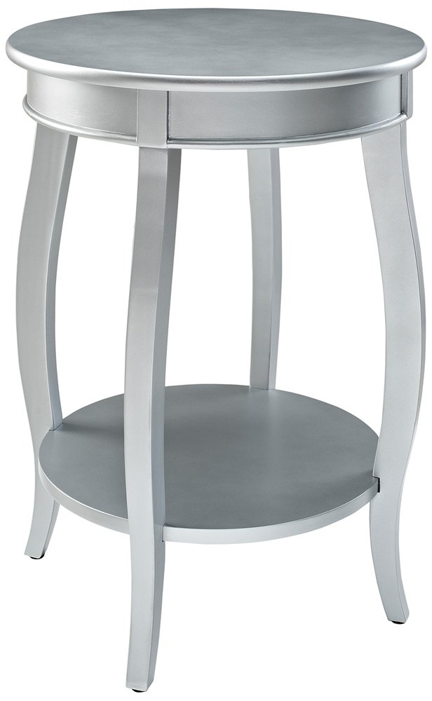 Exceptionnel Amazon.com: Powell Furniture Round Table With Shelf, White: Kitchen U0026 Dining