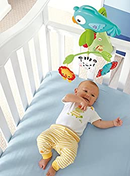Fisher-price Rainforest Friends 3-in-1 Musical Mobile 4