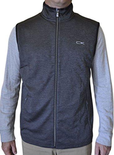 ance Men's Vest, Asphalt, X-Large (Performance Fleece Full Zip Vest)