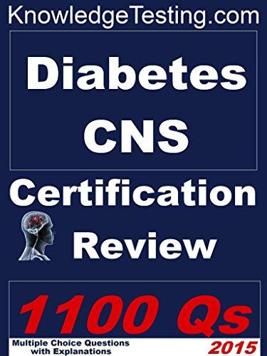 Download Diabetes Certified Nurse Specialist Review (Diabetes Nursing Series Book 1) Pdf