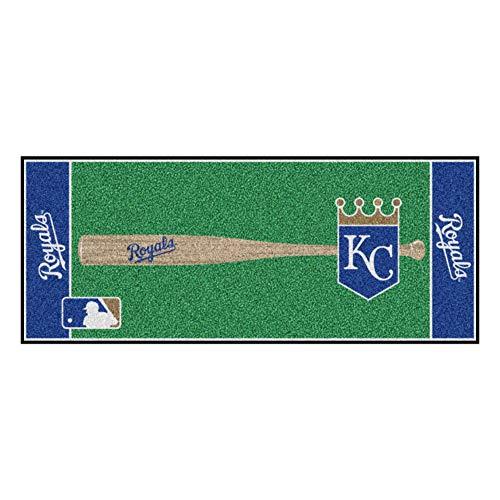 - FANMATS MLB Kansas City Royals Nylon Face Football Field Runner