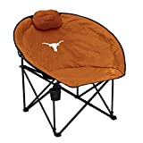 Logo Brands NCAA Texas Squad Chair, One Size, Multicolor