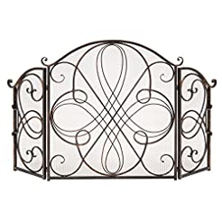 Best Choice Products 3-Panel Wrought Iro...