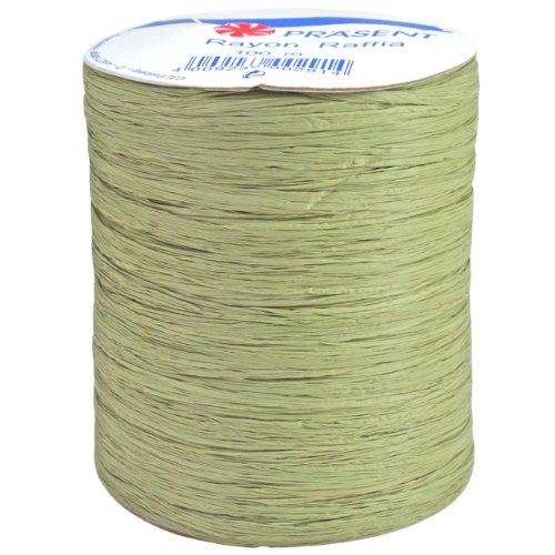Morex Ribbon Rayon Raffia Fabric Ribbon Spool, 100-Yard, (Multi Strand Ribbon)