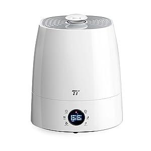 Warm & Cool Mist Humidifier, TaoTronics Ultrasonic Humidifiers for Bedroom