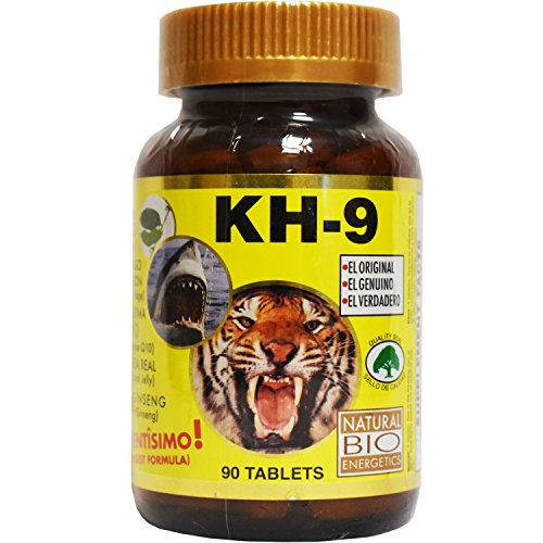 Kh 9 Multivitamin Tablets Natural Bio Energetics Mineral Herb Amino Enzymes (90 Tablets)