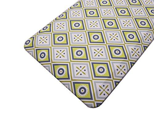 Licloud Kitchen Floor Mat Non-toxic Anti-fatigue Mat Floor Mat Comfort Mat (24x70x3/4-Inch, Tile ()