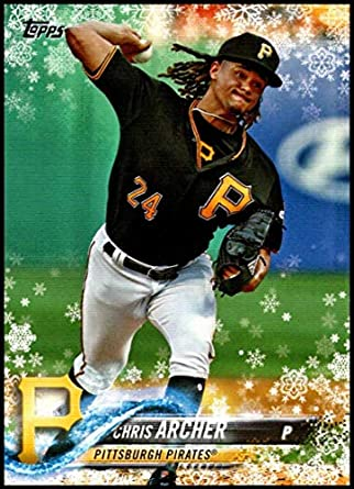 save off 80546 c1a63 Amazon.com: 2018 Topps Holiday #HMW71 Chris Archer NM-MT ...