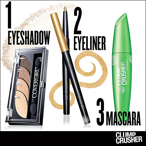 CoverGirl Clump Crusher Mascara by LashBlast - Very Black (800)
