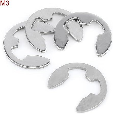 300 Pc Piece Eclip Metal Steel E-clip Fastener Assortment Kit