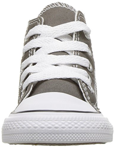 Unisex Alto Converse Sneaker Collo Hi All Star Bambini a – Canvas Charcoal nSwx8S4Fq