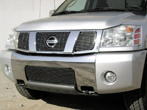 - 2004-2007 NISSAN ARMADA UPPER BILLET GRILLE (3 Pieces) (with logo opening)
