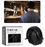 EAREST Protection Ear Muffs, Noise Reduction Safety