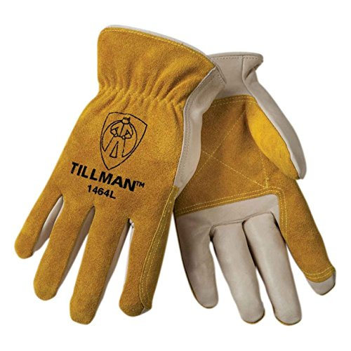 - Tillman 1464 Top Grain Cowhide/Split Drivers Gloves - Large (Original Version) (Original Version)