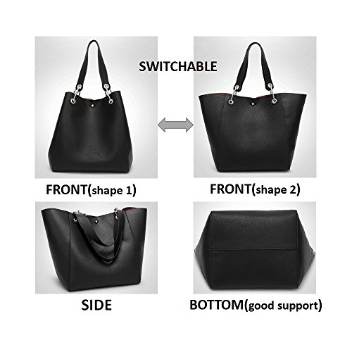 Clutches Bags Tibes Tote C Shoulder Handbags Women Bag Gray Shopping Bag Women Leather Fashion Bags HwwC4YqxP
