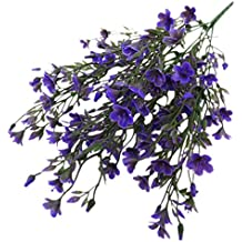 Homyl ARTIFICIAL FLOWER Purple Lavender for Party Baby Shower Party Home Decorations