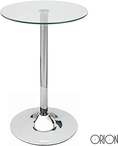 Modern Home Contemporary Glass Top Bar Table