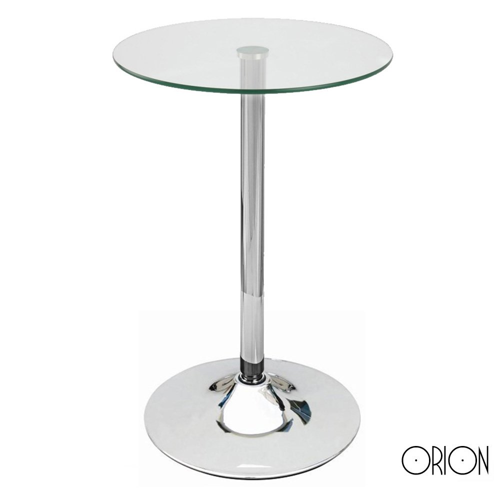 Modern Home Contemporary Glass Top Bar Table by Modernhome