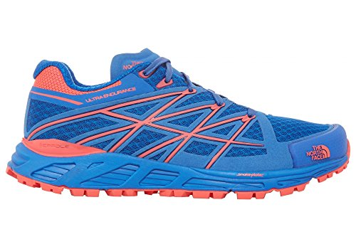 North Face Women's Rocket Quartz Red Blue 9 Ultra 5 The Shoe Endurance dpwdf6