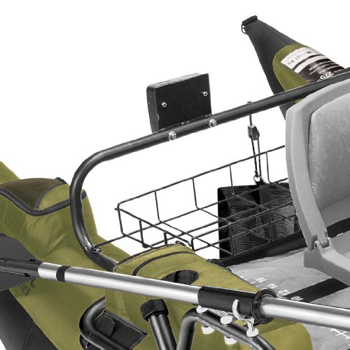 Classic accessories colorado inflatable pontoon boat with for Pontoon boat motor mount