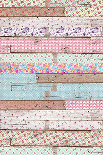 - MEHOFOTO Seamless Baby Shower Photography Backdrops Colorful Wood Photo Background Silk 5X7ft