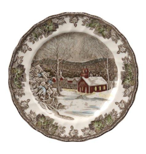 Johnson Bros. Friendly Village Dinner Plate