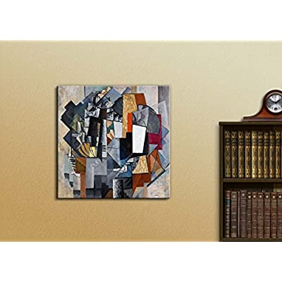 Astonishing Artisanship, Bureau and Room by Kazimir Malevich Print Famous Painting Reproduction, Premium Product