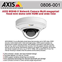 AXIS M3046-V Network Camera Multi-megapixel fixed mini dome HDMI and wide view