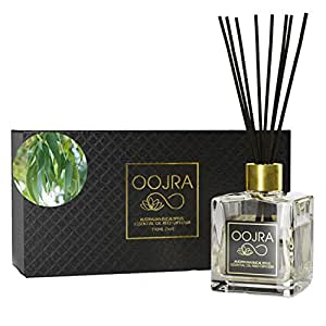 Oojra australian eucalyptus essential oil reed for Long lasting home fragrance