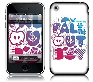 MusicSkins, MS-FOB10001, Fall Out Boy - Icons, iPhone 2G/3G/3GS, Skin