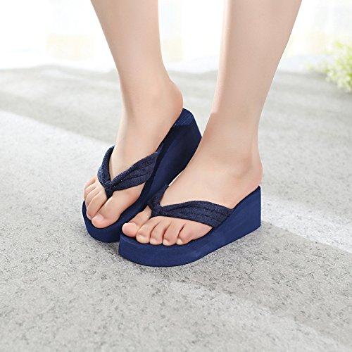 sandali alta casual e da 1 pantofole spiaggia Mhgao moda ciabatte donna CEZtcPq