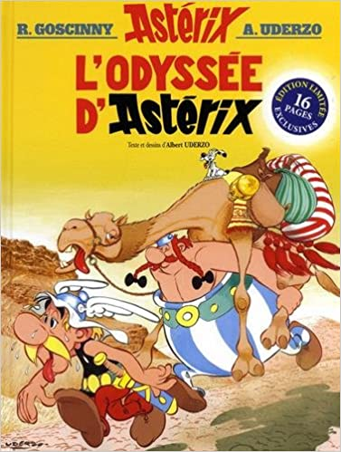 Astérix, Tome 26 : L'odyssée d'Astérix : Avec un dossier inédit de 16 pages