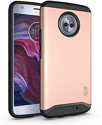 Tudia Motorola Moto X4 Merge cover/case - Rose Gold: Buy Online at ...