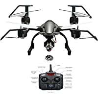 NiGHT LiONS TECH 668-R8 Multifunctional 2.4G 4CH 6-Axis Gyro RC Quadcopter With Wifi FPV DRONE 1080P Camera For Outdoor Flying drone UFO toy