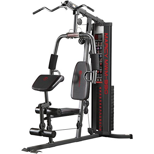 Marcy Premium Multi-functional 150lb. Stack Home Gym for Full Body Workout MWM-990 Bowflex Pr1000 Home Gym