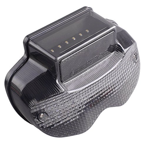 GZYF Motorcycle Smoke Lens LED Taillight Brake Tail Light and Turn Signal Lamp for SUZUKI BANDIT 600 1200 2000-2005