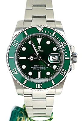 Super Luxury Submariner 007 Mens Nobiliary Wrist Automatic Watch 40mm Cerachrom rotatable Bezel Case