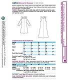 Kwik Sew K3710 Dresses Sewing Pattern, Size 1X-2X-3X-4X