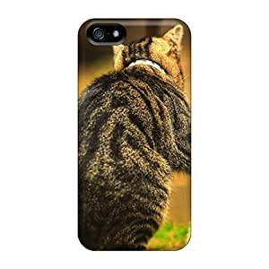 First-class Case Cover For Iphone 5/5s Dual Protection Cover Cats Animal Kittens Image