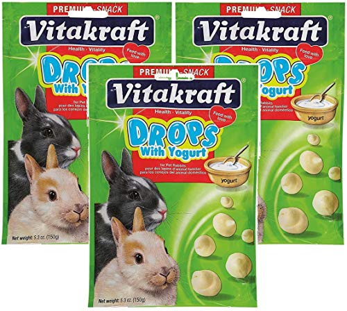 - Vitakraft Yogurt Drops for Rabbits - 3 PACK