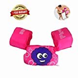 FireBee Swim Arm Bands Trainer Float Life Jacket Vest Learn Swimming Independence Fun