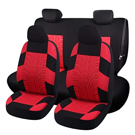 Admirable Amazon Com Lioobo 5Pcs Set Car Seat Cover Dust Cover Seat Caraccident5 Cool Chair Designs And Ideas Caraccident5Info