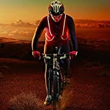 Reflective Safety Led Vest Running, Walking, Cycling, Snowboarding, Luminous Safety Bands high Visibility
