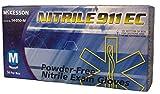 MCK40661300 - Exam Glove McKesson NITRILE 911 EC NonSterile Powder Free Nitrile Ambidextrous Textured Fingertips Purple Chemo Tested Small