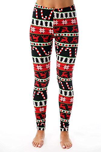 Just Love Ugly Christmas Holiday Leggings ()