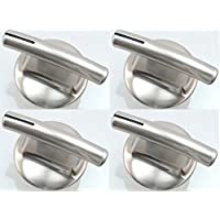 Surface Burner Knob, 4 Pack for Maytag, Jenn-Air PS2375886 AP5670739 7737P245-60 by replacement-range-knobs