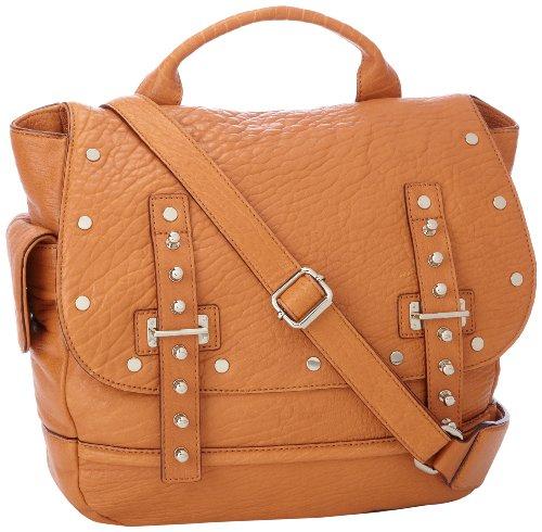 Rebecca Minkoff Logan H464E025 Shoulder Bag,Almond,One Size, Bags Central