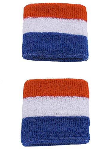 Tipsy Elves American Flag USA Sweatbands -